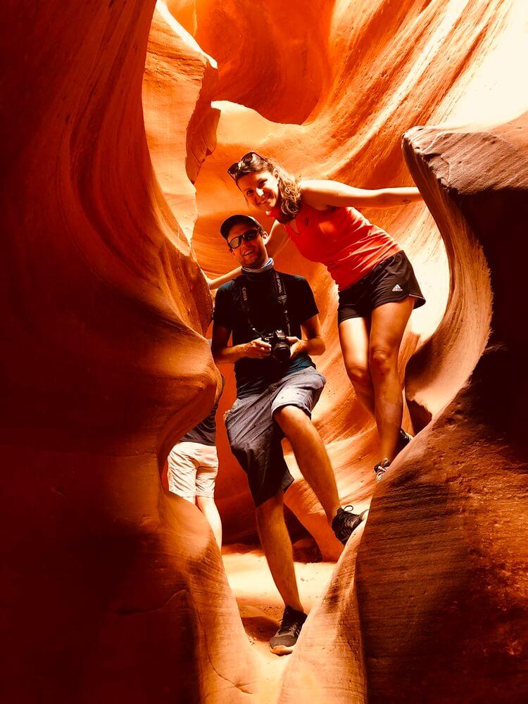 Antaloupe canyon v Arizone