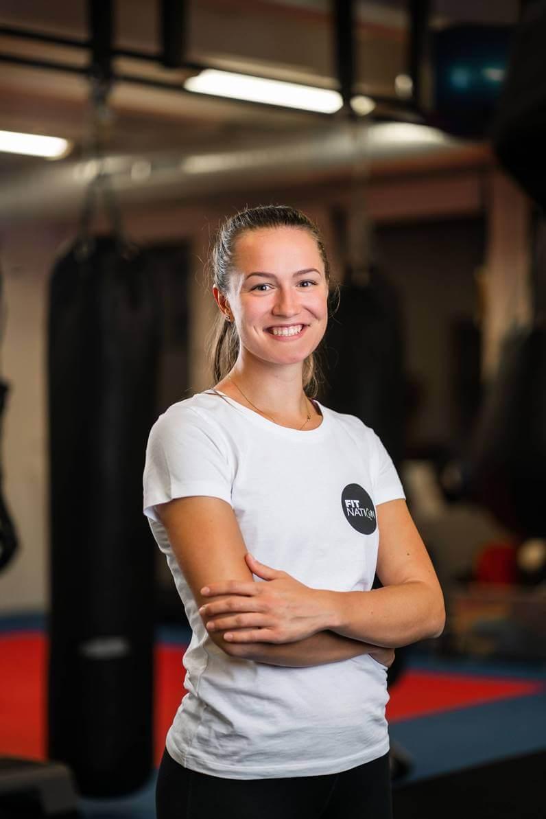 Katka Kuštárová FitNation Osobný tréner fitness