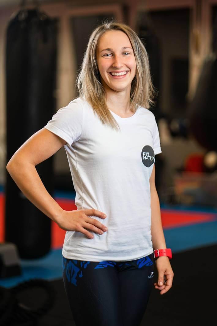 Lucka Grigerová FitNation osobný tréner