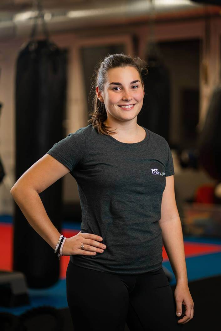Miska Kralikova FitNation osobný tréner