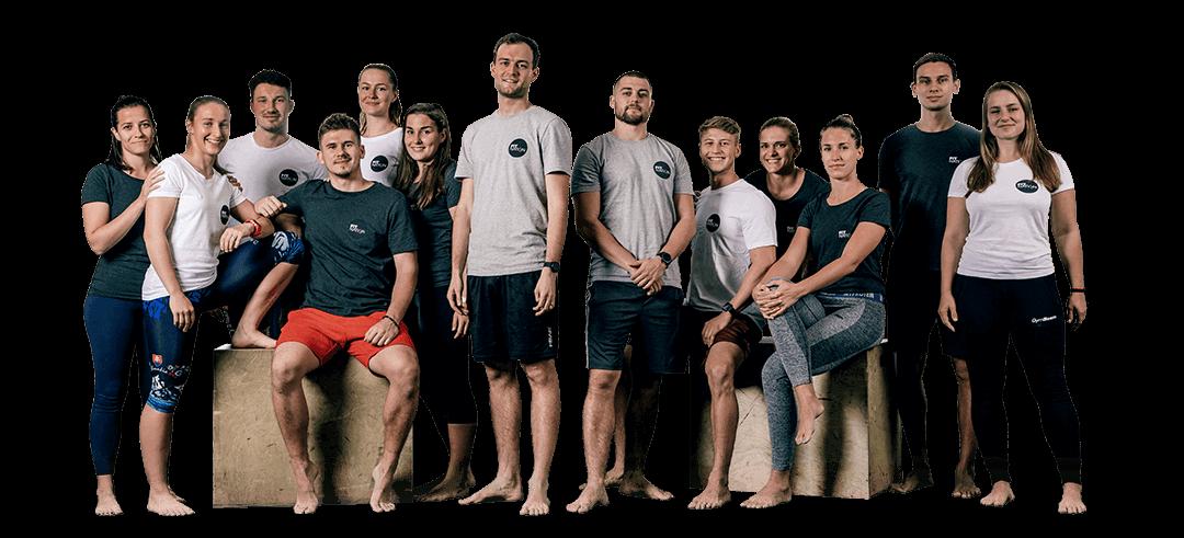 FitNation trénerský tým spolocna foto OPT