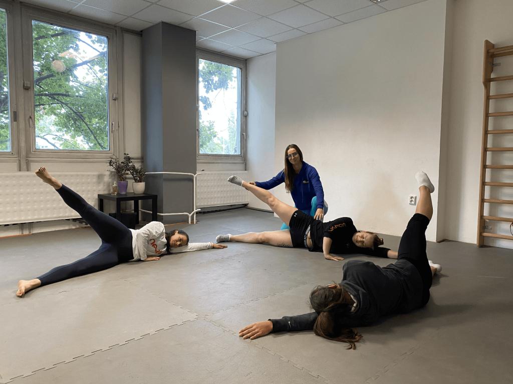 Pilates Bratislava Ružinov Skupinový tréning FitNation