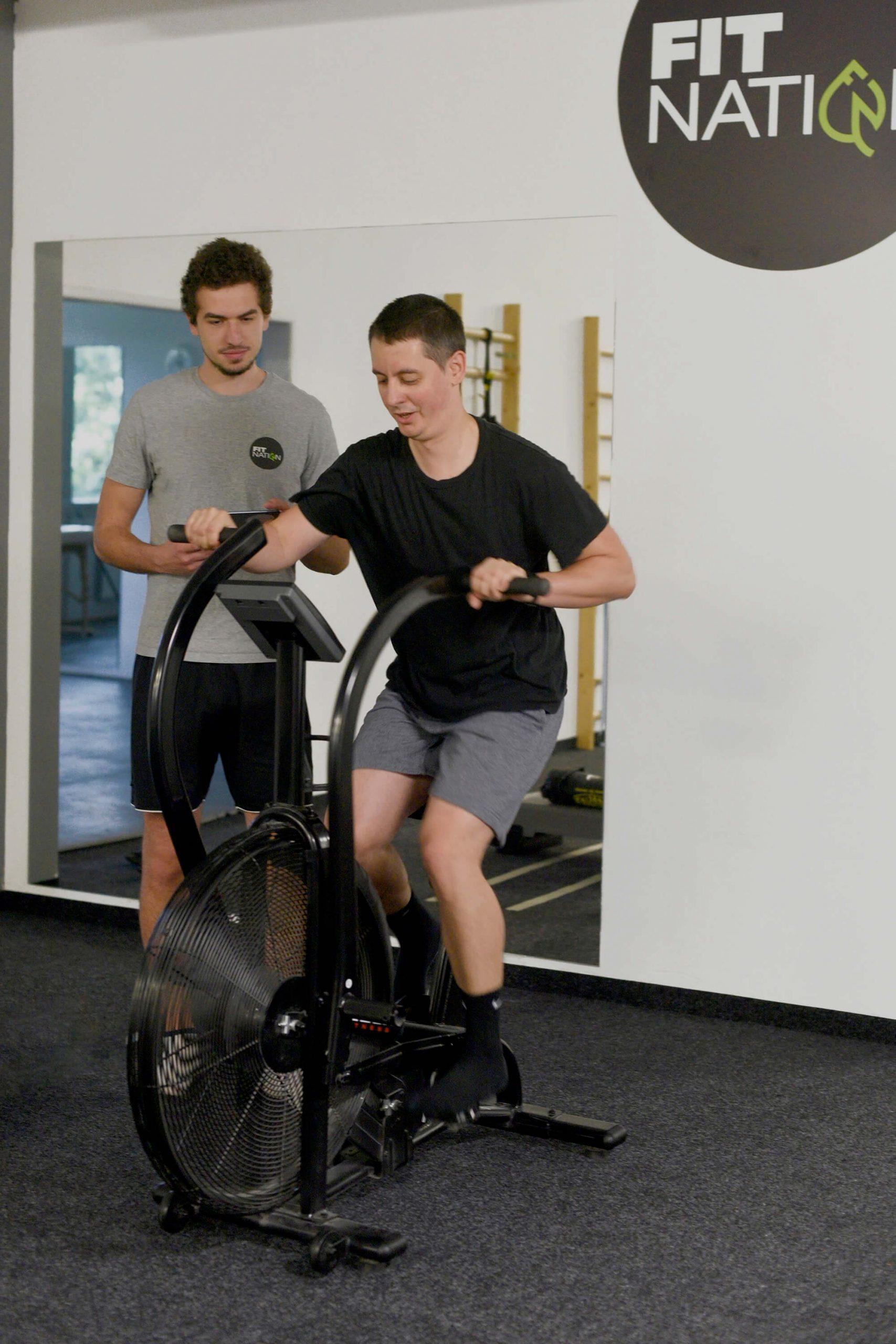 chudnutie a kondičný tréning s trénerom