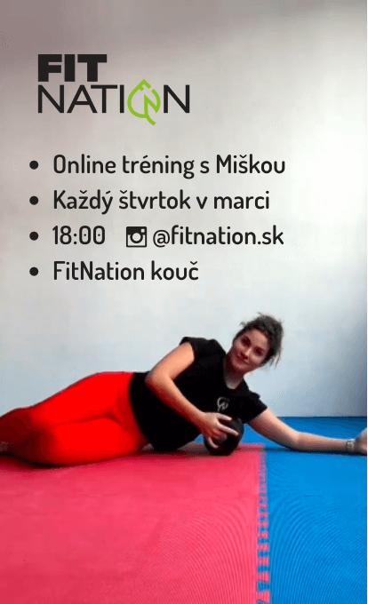 Miska online cvičenie na instagrame